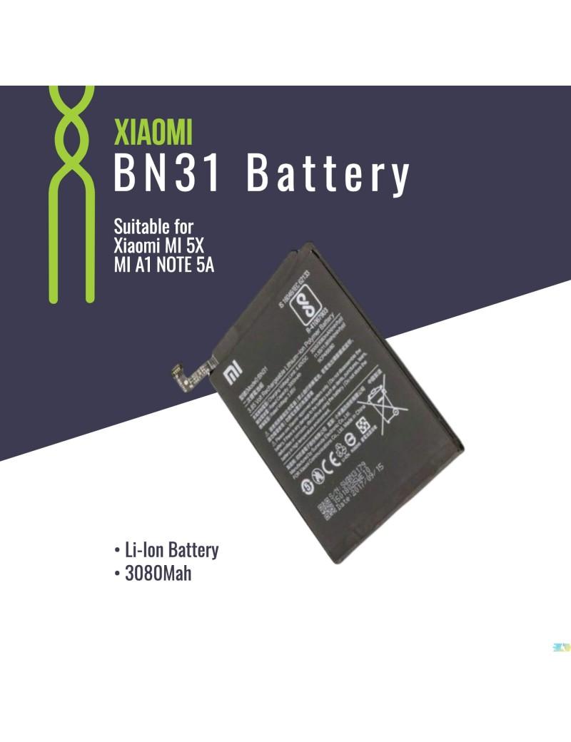 Original Xiaomi BN31 Battery For Xiaomi MI 5X MI A1 NOTE 5A