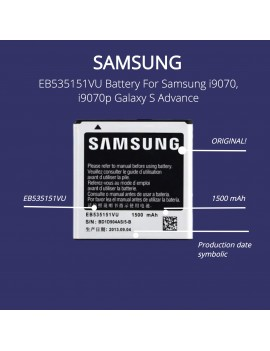 Samsung EB535151VU Battery