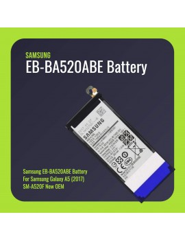 Samsung EB-BA520ABE Battery For Samsung Galaxy A5 (2017) SM-A520F New OEM
