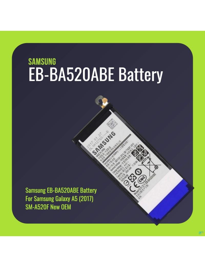 Samsung EB-BA520ABE Battery For Samsung Galaxy A5 (2017) SM-A520F New OEM