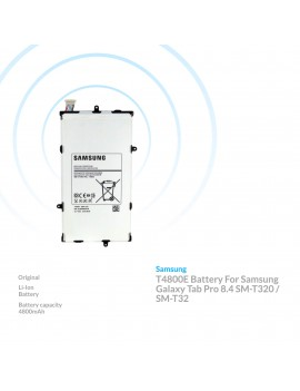 Samsung T4800E Battery For Samsung Galaxy Tab Pro 8.4 SM-T320 / SM-T32 New OEM