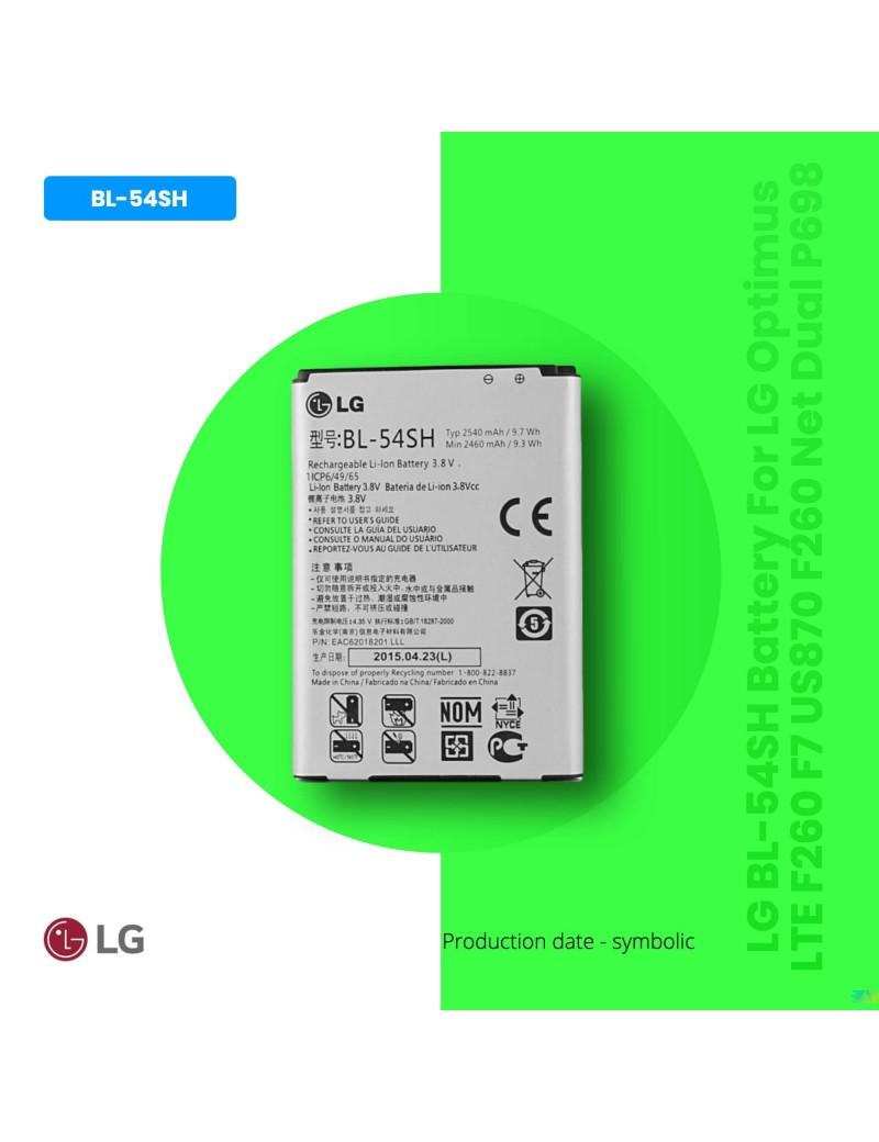 LG BL-54SH Battery For LG Optimus LTE F260 F7 US870 F260 Net Dual P698 New OEM