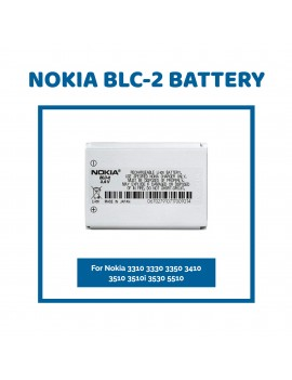 Nokia BLC-2 Battery For Nokia 3310 3330 3350 3410 3510 3510i 3530 5510 New OEM