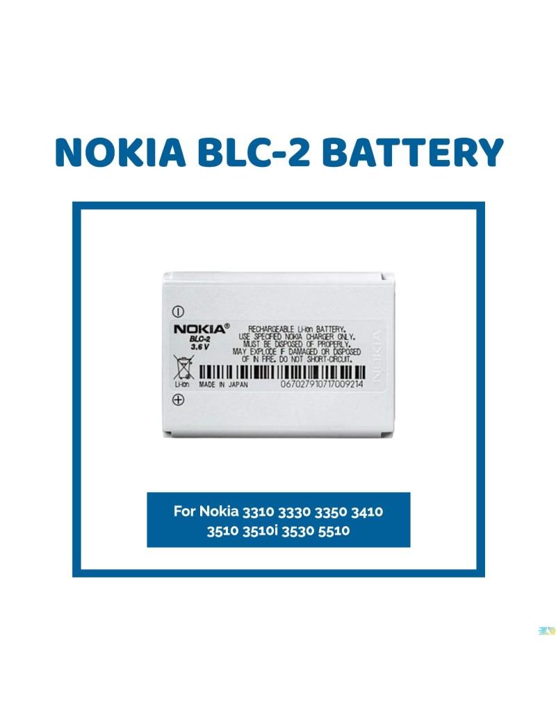 Nokia BLC-2 Battery For Nokia 3310 3330 3350 3410 3510 3510i 3530 5510