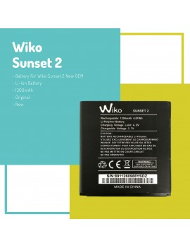 Wiko Sunset 2 Battery For Wiko Sunset 2 New OEM